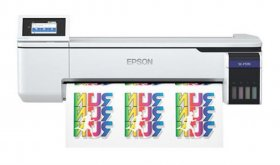 "EPSON SURE COLOR F570, 24"" DE ANCHO, WI-FI, USB, RED"